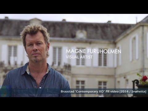 """Braastad XO """"Contemporary Art"""" Series Act. 2: MAGNE FURUHOLMEN [2014 / Snøhetta]"""
