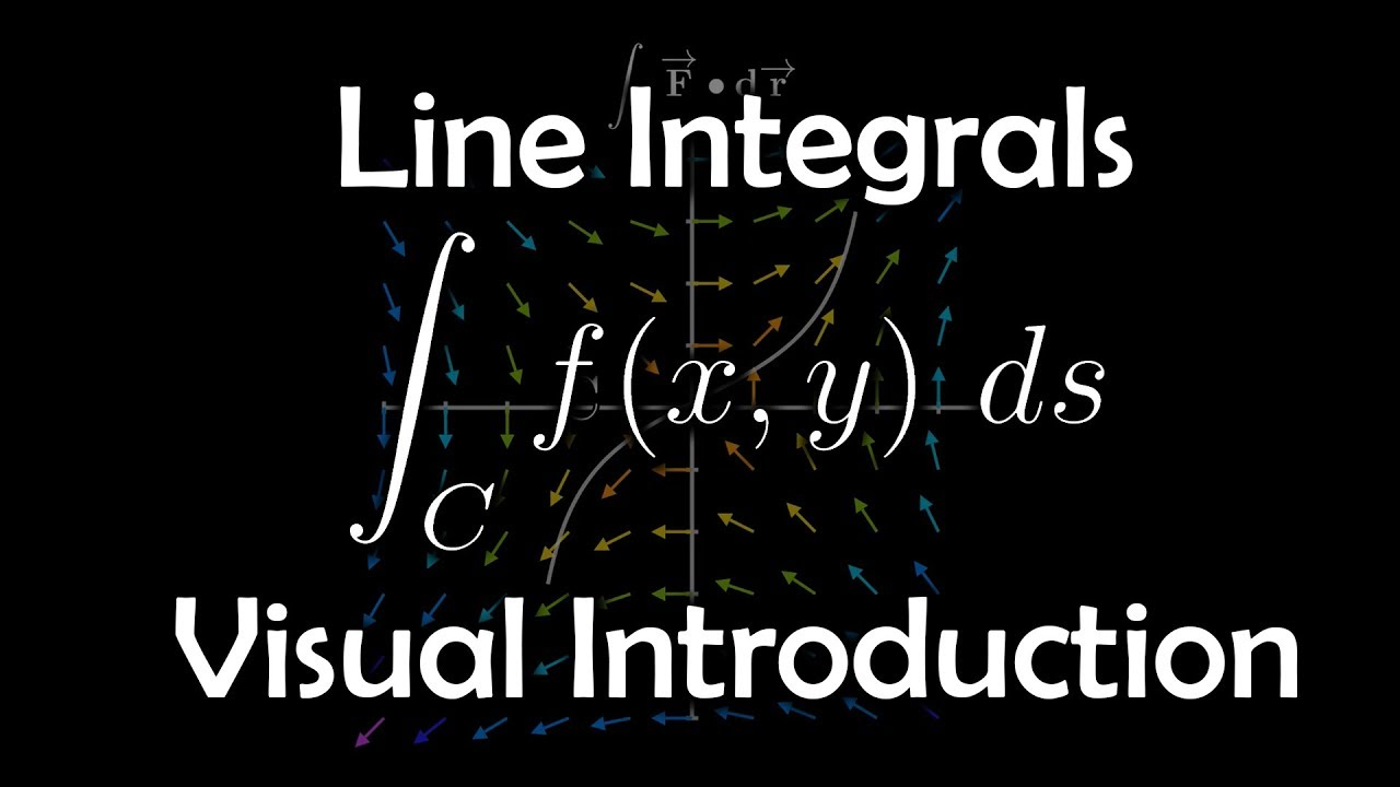 The Line Integral A Visual Introduction Youtube Paul's math notes got me through all of my undergrad math courses. the line integral a visual introduction