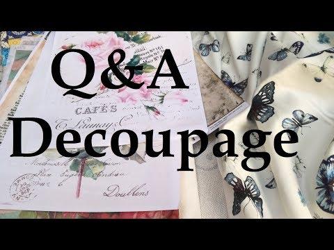 Q&A Decoupage - Rescoli by Carlo