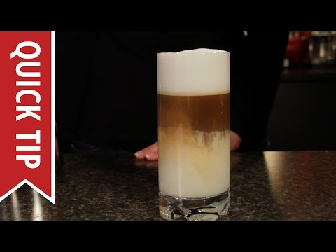 Quick Tip: How to Make a Latte Macchiato and Espresso Macchiato