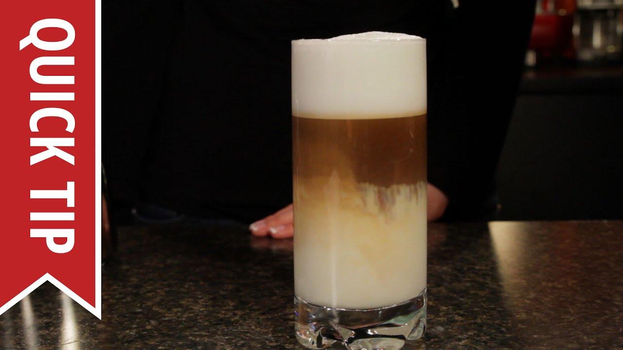 Quick Tip How To Make A Latte Macchiato And Espresso Macchiato