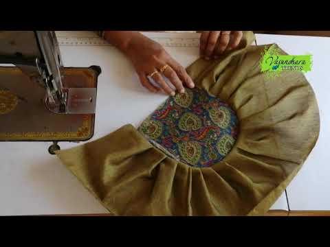 Easy and Simple Designer Fabric Handbag Making    DIY Ladies Handmade Handbag    DIY Fabric Purse