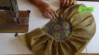 Easy and Simple Designer Fabric Handbag Making || DIY Ladies Handmade Handbag || DIY Fabric Purse