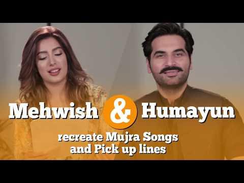 Mehwish Hayat reads Stage Show songs and Humayun reads Pickup Lines   Punjab Nahi Jaungi