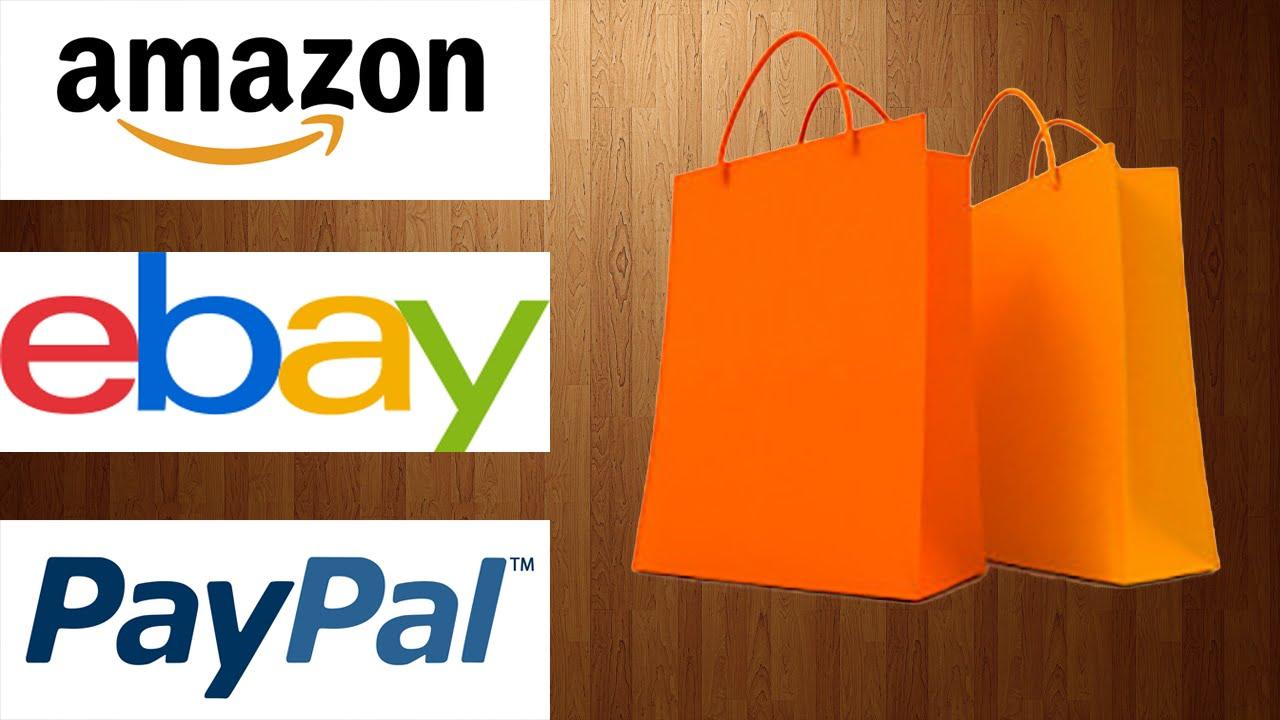 Como comprar por internet pagar con paypal ebay amazon for Compra de vajillas online