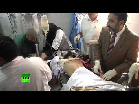 Peshawar Hospital Footage: Over 100 Killed, Dozens Injured In School Attack