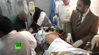 Peshawar hospital footage: Over 100 killed, dozens injured in school attack