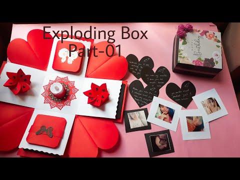 DIY Exploding Box Tutorial || How To Make Exploding Box || Part 01
