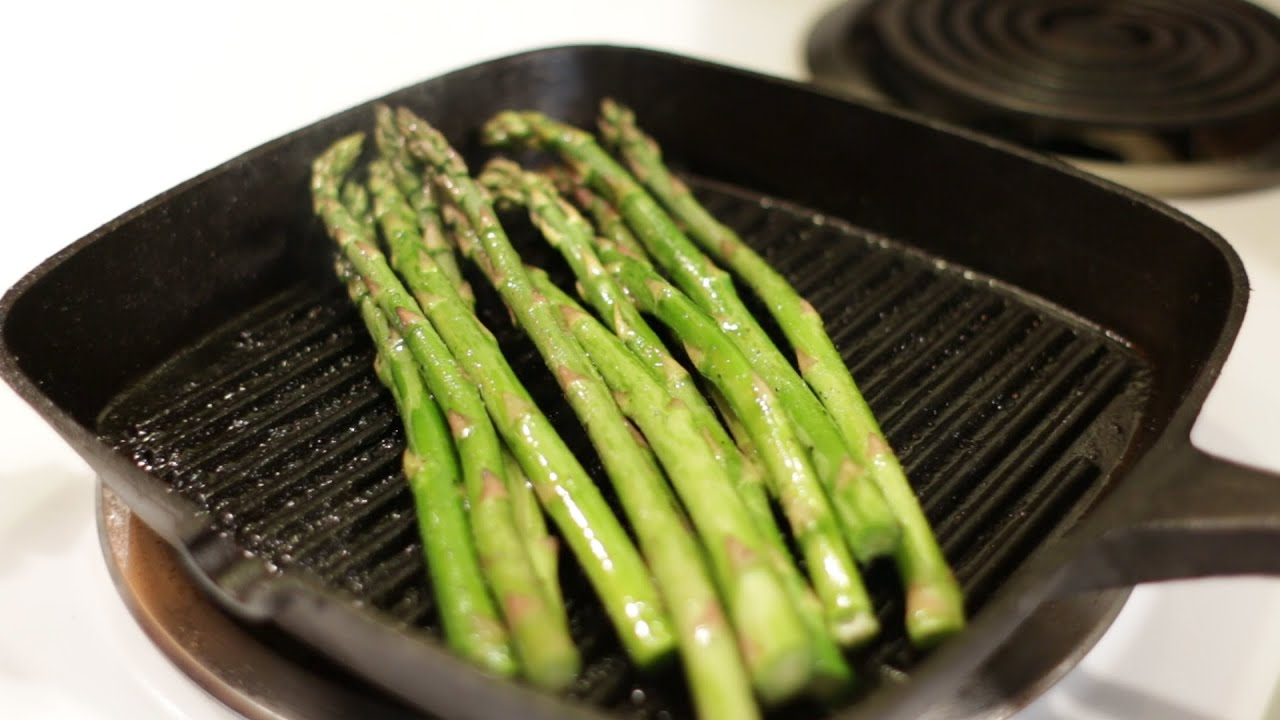 How To Cook Asparagus  Easy Video Recipe
