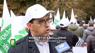 Fallimento del PSR: la protesta di Confagricoltura a Torino