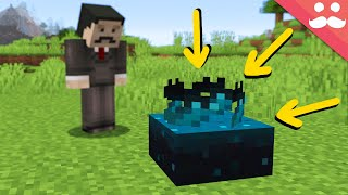 Playing with NEW SCULK SENSORS from Minecraft 1.17!
