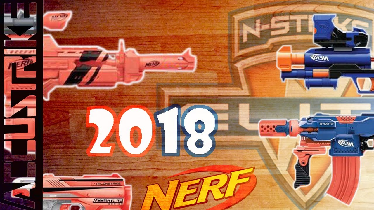 NEW NERF BLASTERS 2018   Accustrike Rapidstrike, New ...