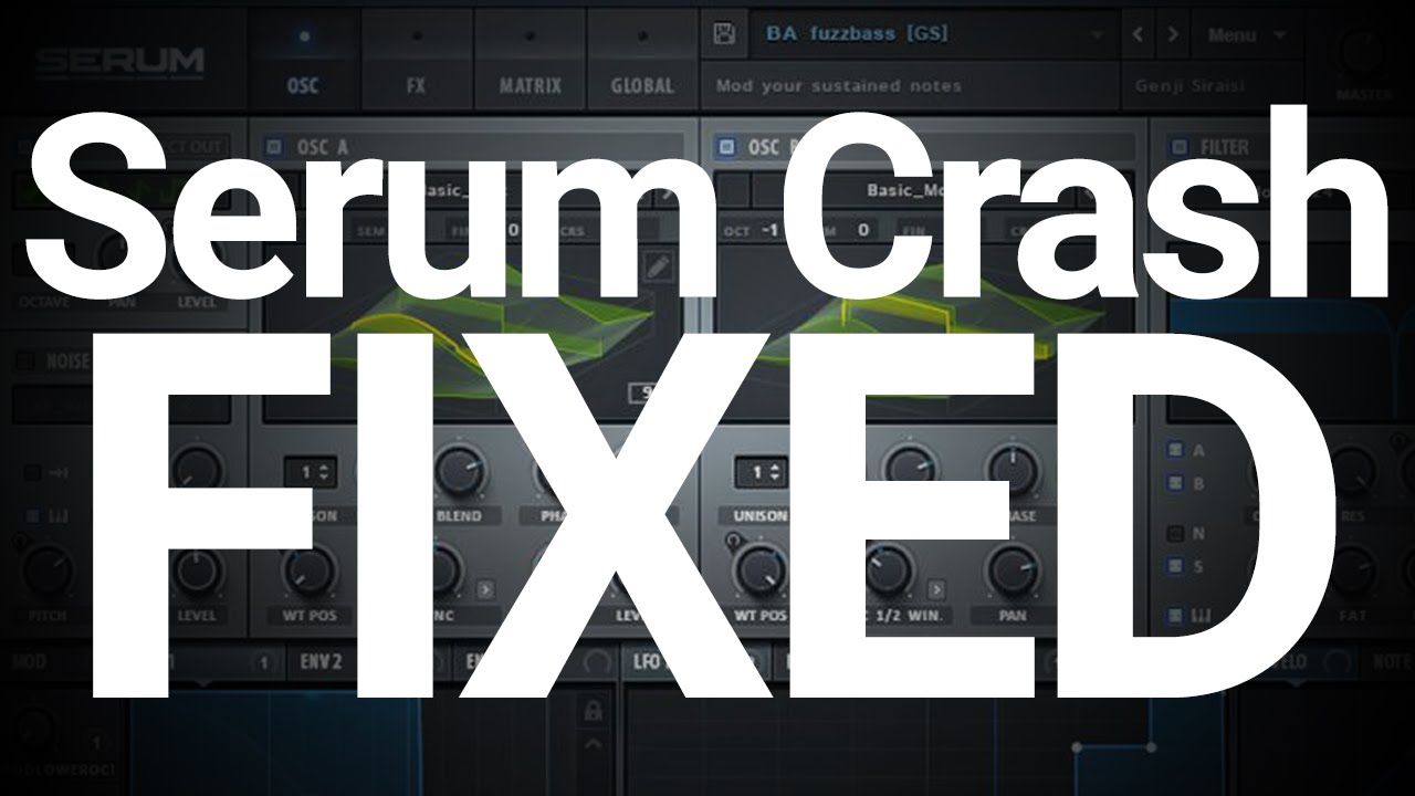 xfer records serum 1.04 beta 4 update fixed