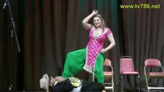 Repeat youtube video Saima Khan's Best Dance in Jamshed Riaz's HELLO DARLING Comedy Show