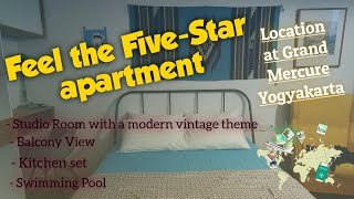 Gambar cover ROOM TOUR || FIVE-STAR APARTMENT || Near Mall & Hospital || Feel your stay with five-star service