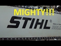 The mighty STIHL collection with full specs and cold starts