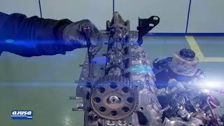 RENAULT ESPACE Cylinder head bolts set assembly – Montaje de tornillos de culata Ajusa