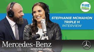 Stephanie McMahon and Triple H on WWE Evolution | Elvis Duran Show