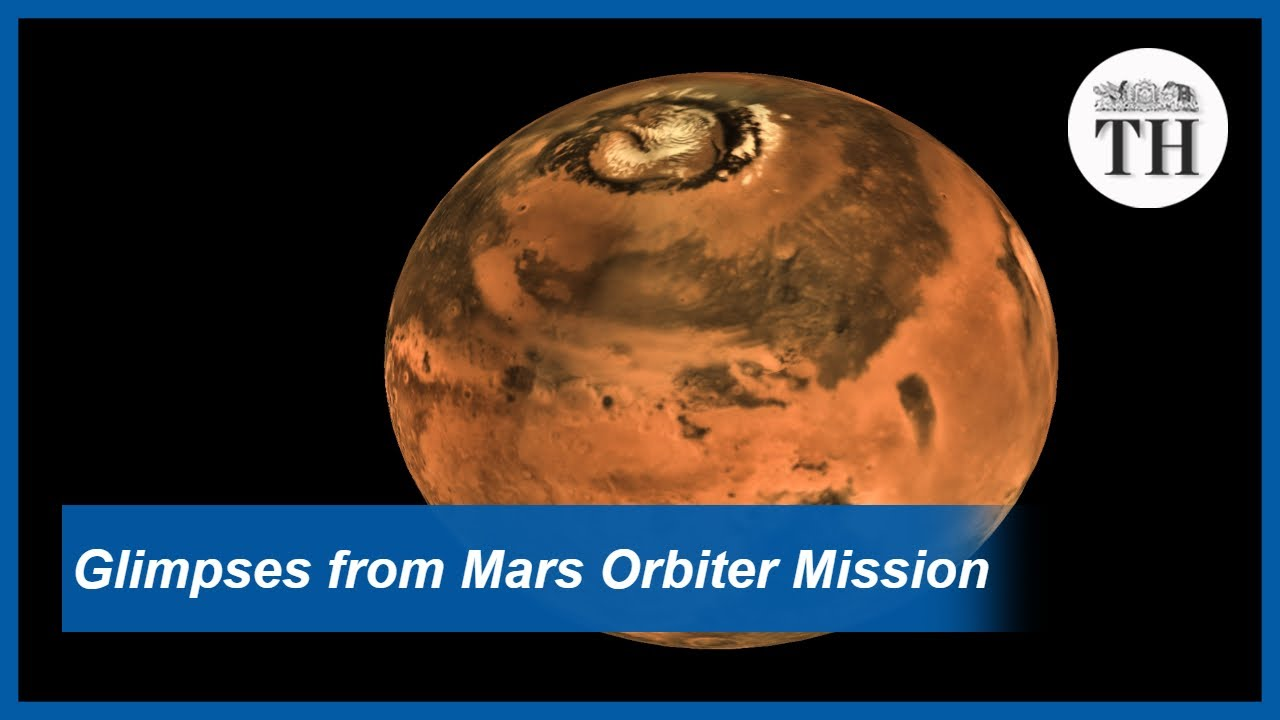Glimpses from Mars Orbiter Mission - The Hindu