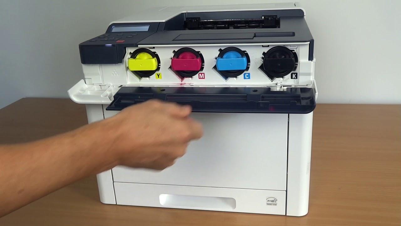 Wechsel Der Tonerkartuchen Beim Xerox Phaser 6510 Bzw Workcentre