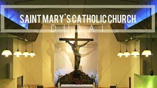 | St Mary's Dubai Mass 20201023 6:30 AM