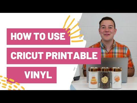 How To Use Cricut Printable Vinyl