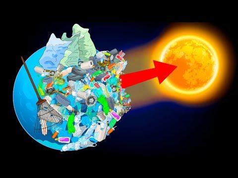 A może wyślemy wszystkie śmieci w kosmos?