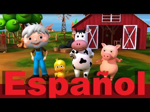El viejo McDonald tiene una granja | Canciones infantiles | LittleBabyBum