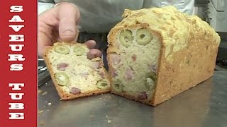 How to make Savoury Olive &amp Ham Cake with The French Baker TV Chef Julien from Saveurs