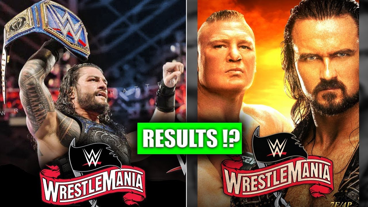 WWE WrestleMania 36: Live updates, results, title changes and ...