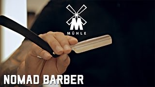 How to Shave with a Straight Razor - Featuring Mühle