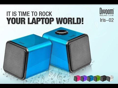 Акустична система Divoom Iris-02 USB Blue