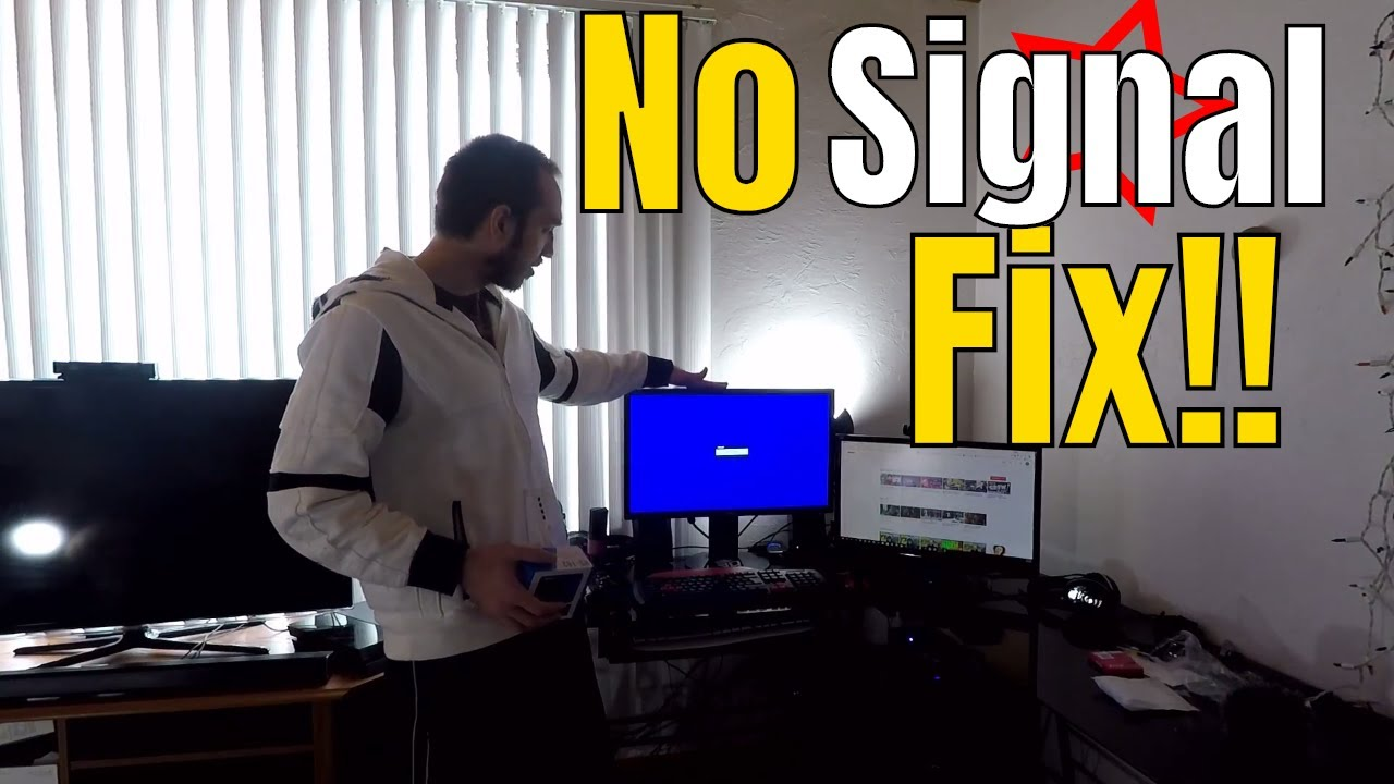 Fixed!! No signal on Asus Monitor with Capture Card | OREI HDMI Splitter
