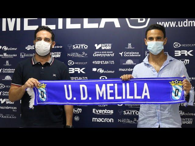 Presentación oficial Álvaro Molina como jugador de la UDM