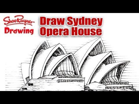 How To Draw Sydney Opera House