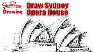 How to Draw Sydney Opera House