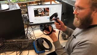 Live: Das erste Windows-Mixed-Reality-Headset im c't-Labor