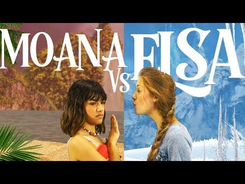 Rap Battle: Moana Vs. Elsa