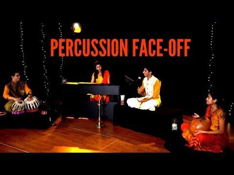 Percussion Face-Off: Piano, Tabla, Ghatam, Konnokol