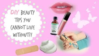 DIY Beauty Tips You Can