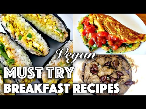 VEGAN BREAKFAST + BRUNCH IDEAS (Weekend Recipes)