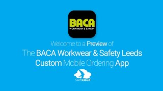 BACA Workwear & Safety Leeds - Mobile App Preview - BAC020W