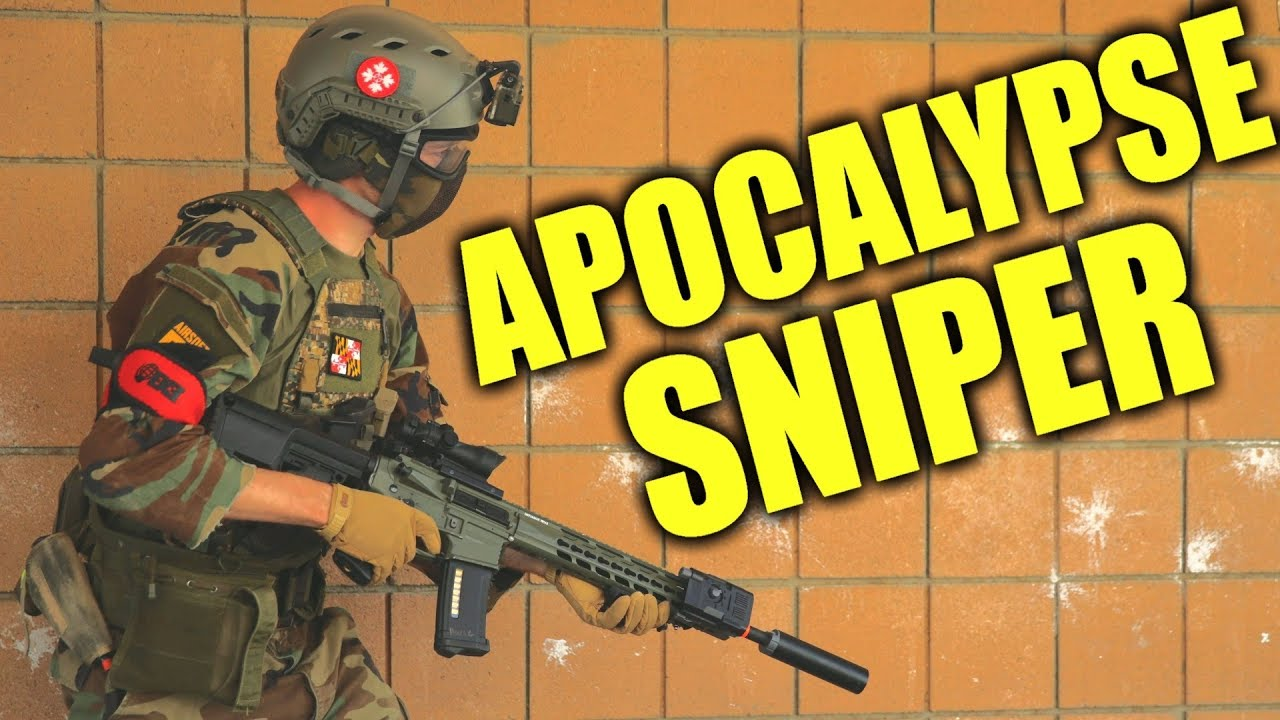 Airsoft Sniper In An Abandoned AIR FORCE BASE! - YouTube