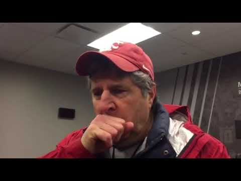 Mike Leach post practice 12-10