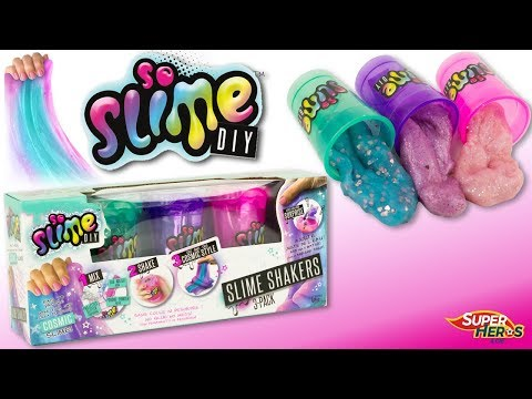 Comment Faire du Slime sans Colle Pate à Prout DIY Slime Shakers Jouet Toy Review Fart Dough