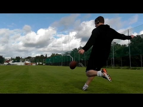 New England Patriots sign kicker from viral trick-shot videos to ...