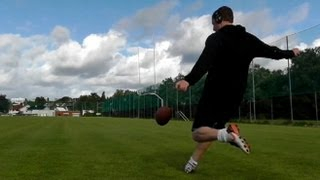 Video 'Incredibly Accurate Football Kicker' Video Impresses NFL: Havard Rugland Tries Out for Jets download MP3, 3GP, MP4, WEBM, AVI, FLV September 2017