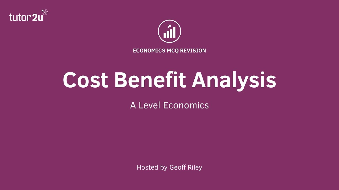 MCQ Revision Question - Cost Benefit Analysis