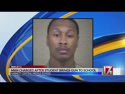 Sheriff: Harnett Central Middle School student caught with loaded handgun on campus