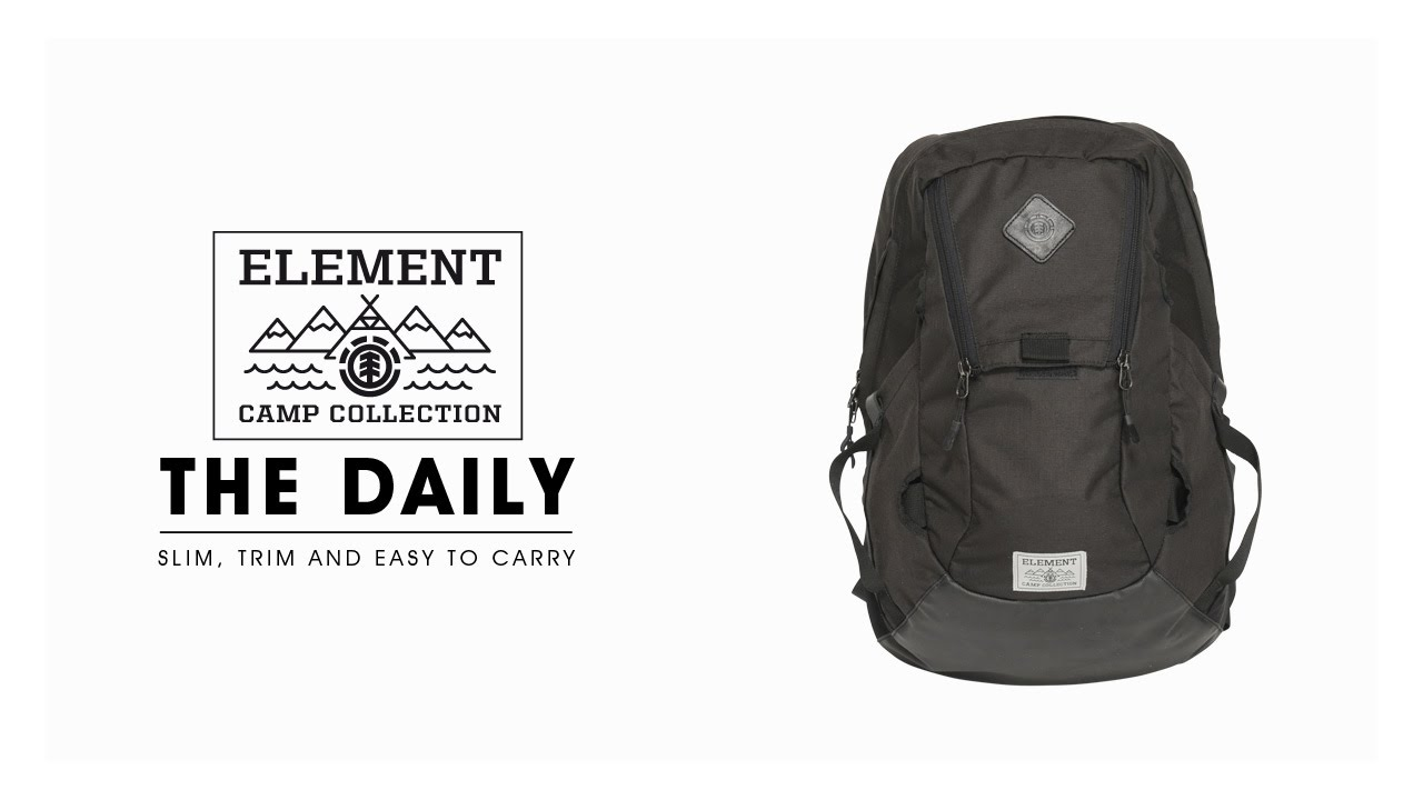 The Daily - Element Camp Collection Backpack - YouTube 3932cad1b0